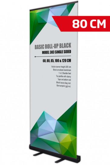 Basic Roll-up, Single Model 80 - black