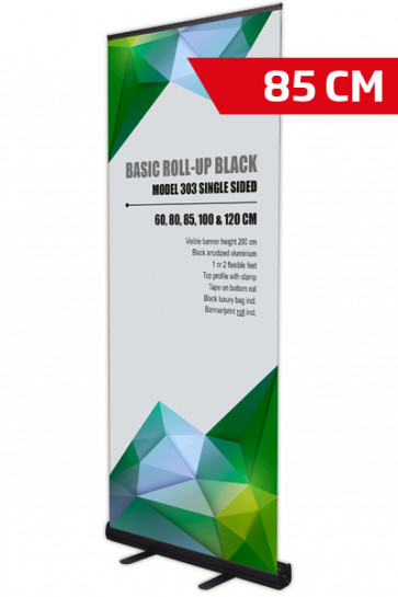 Basic Roll-up, Single Model 85 - black