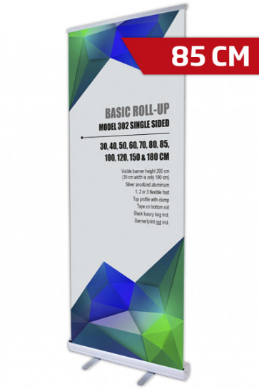 Basic Roll-up, Single Model 85 - alu