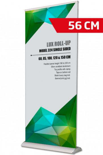 Lux Roll-up, Single Model 56cm - alu