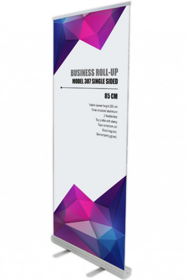 Business Roll-up, Single sided Model 85 - alu