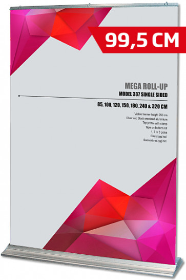Mega Roll-Up, Model 100 alu
