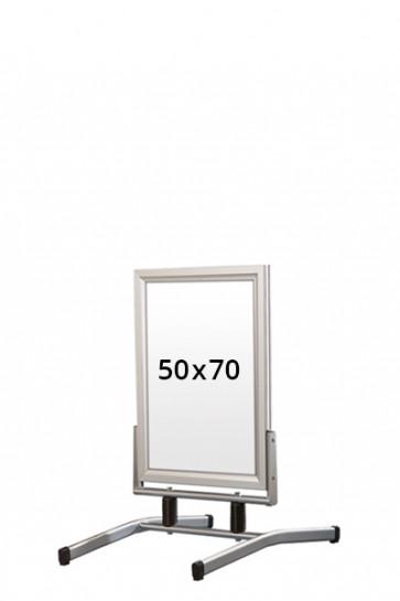 WIND-LINE LUX pavement board 45mm (M) 50x70cm alu