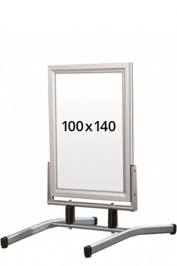 WIND-LINE LUX pavement board 45mm (M) 100x140cm alu