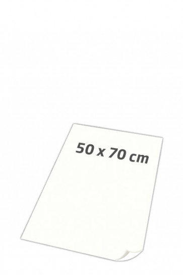 POSTER PAPER super smooth 100gr 50x70cm white, 250 sheets