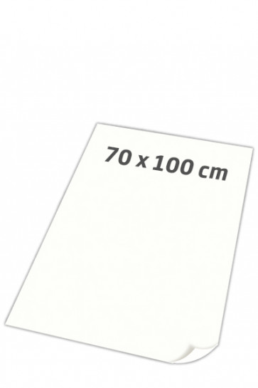 POSTER PAPER super smooth 100gr 70x100cm white, 250 sheets