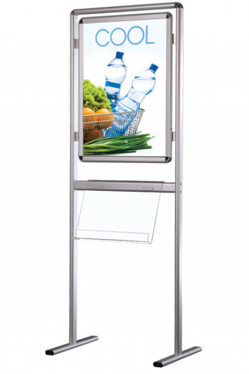 INFO-LINE Poster with acrylic shelf