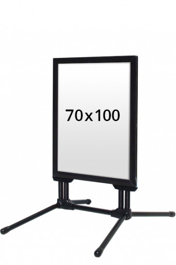 WIND-LINE BUDGET pavement board 40mm (M) 70x100cm - Black