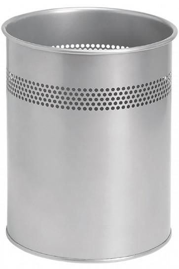 Waste Bin Basic -  Silver
