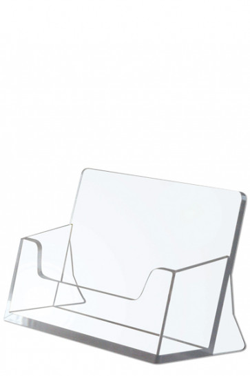 Cardholder horisontal - clear