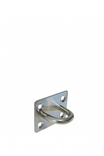 Crowd control rope holder, wall - Steel