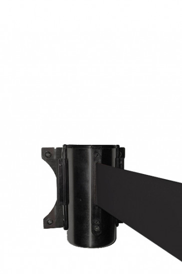 Crowd control belt dispenser wall, black - Black