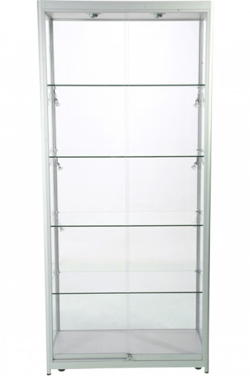 Showcase Tower, Duo - Silver. LED