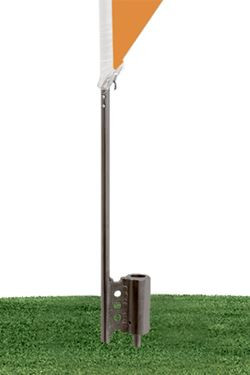 Ground spike for Outdoor Spike Flag