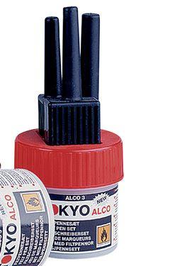 TOKYO ALCO 3 feltpens red