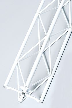 Exibit module 180 cm - white