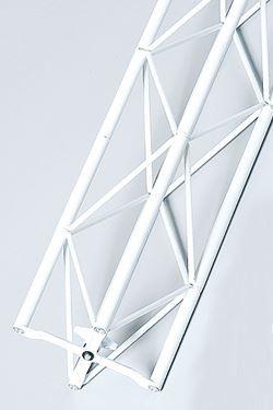 Exibit module 130 cm - white