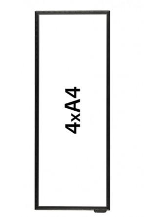 FloorWindo 4xA4 Floor Display