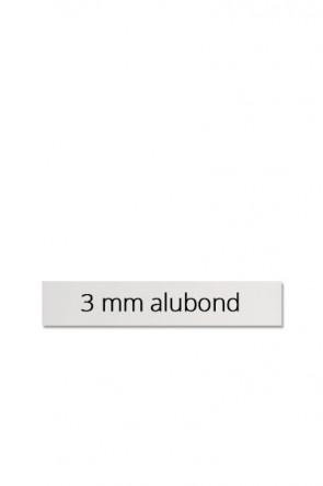 Panel size 60x10 cm for Estate Sign Twin 65x101cm. Dibond