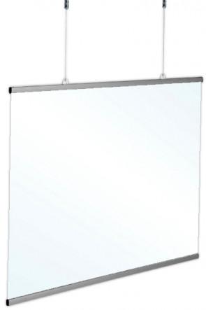 Hygiene Screen, hanging. 120x70cm