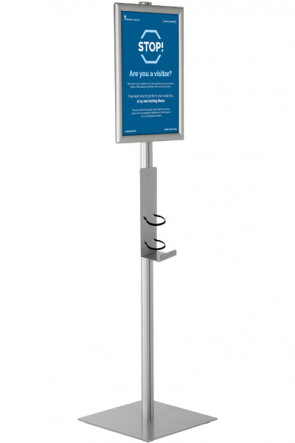Hand Sanitizer Stand, A3