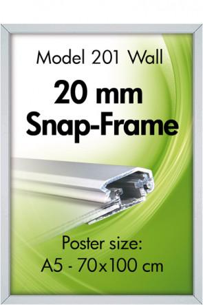 ALU SNAP FRAME 20mm (M) A5 alu