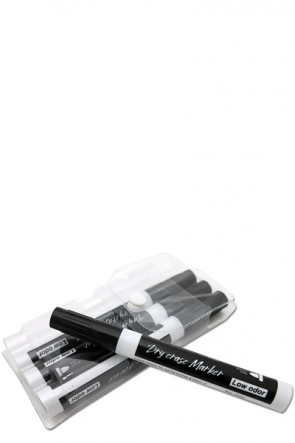 White Board Marker - 4 pcs. Black