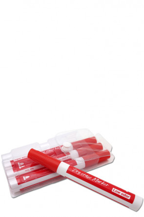 White Board Marker - 4 pcs. Red