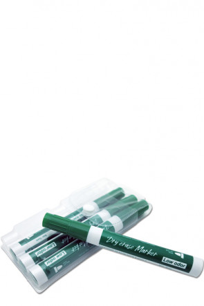 White Board Marker - 4 pcs. green