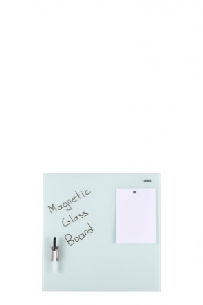 Glass Board Magnetic. White. 45x45cm