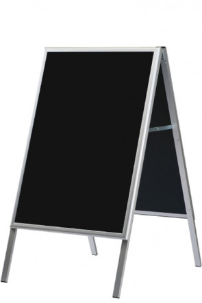 A-board with Blackboard 60x80cm