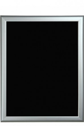 Blackboard with alu frame 60x80cm