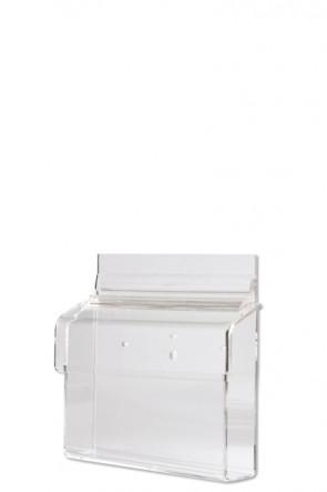Acrylic Outdoor Brochure Box A6 - horizontal