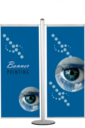 MULTISTAND 17  Double sided with 2 pcs. 70cm banner
