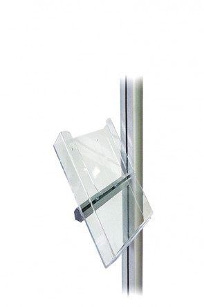 MULTISTAND Acrylic brochure holder with alu fitting, M65