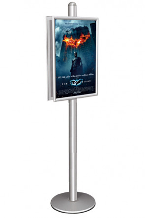 MULTISTAND 10 Double sided 25mm 2 x 50x70 cm Alu