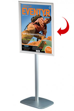 Mini Multistand 1 - Single sided A2 Snap Frame