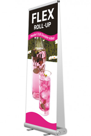 Bag for Flex Roll-up, 80 double black