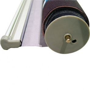 Bottom roll for Easy Roll-up, 80cm. Alu