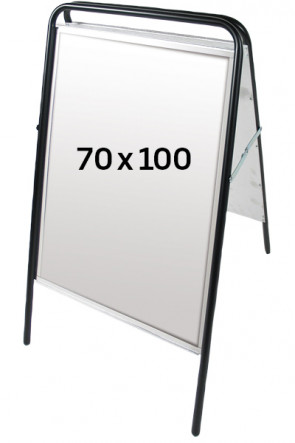 EXPO SIGN streetsign 70x100 black