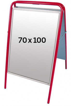 EXPO SIGN pavementboard 22 mm 70x100 cm red