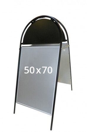 GOTIK Budget pavement board 50x70cm black
