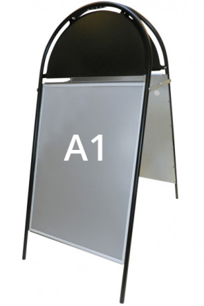 GOTIK Budget pavement board 59,4x84,1cm   A1 black