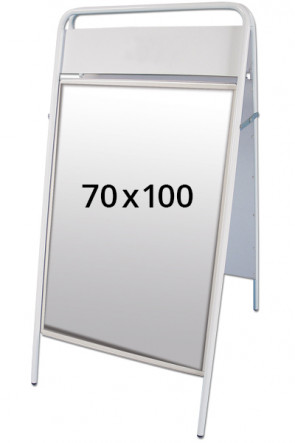EXPO SIGN pavementboard 22mm 70x100cm TB white