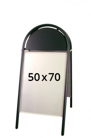 EXPO GOTIK pavement board 25mm 50x70cm black