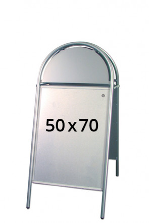 EXPO GOTIK pavement board 25mm 50x70cm silver