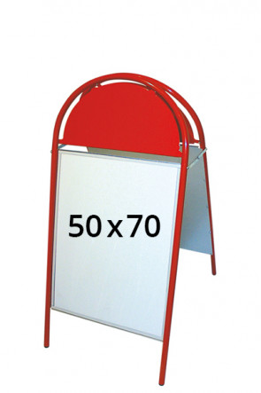 EXPO GOTIK pavement board 25mm 50x70cm red
