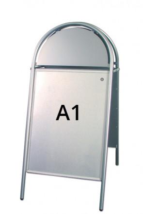 EXPO GOTIK pavement boardt 25mm A1 silver