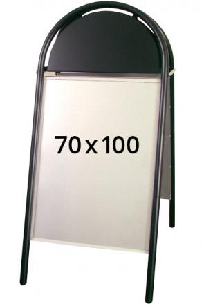 EXPO GOTIK pavement board 25mm 70x100cm black