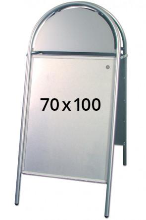 EXPO GOTIK pavement board 25mm 70x100cm silver